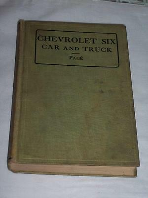 Chevrolet Six Car and Truck PAGE 1932 Hardcover Chevy Repair Book RARE MAKE OFFR