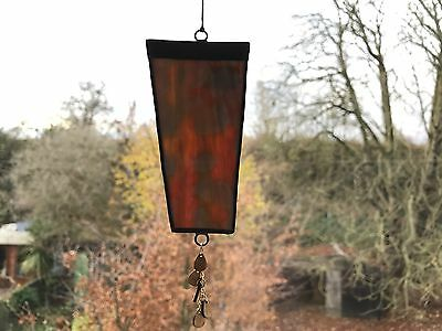 Stained Glass Mixed Colour Suncatcher With Beads