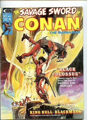 Savage Sword of Conan The Barbarian #2 (1974 Series) Curtis Magazine VG+