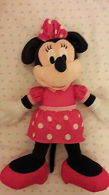 Disney Talking Minnie Mouse, Cuddly Toy, Teddy, Excellent.