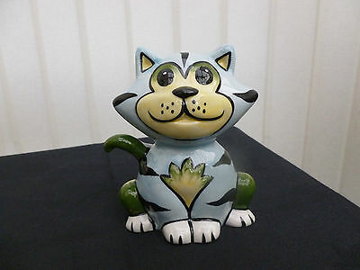 "Lorna Bailey Cat ""benny"" Brand New Hand Painted & Signed"