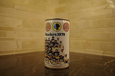 Iron City Super Pittsburg Steelers 1979 Beer Can