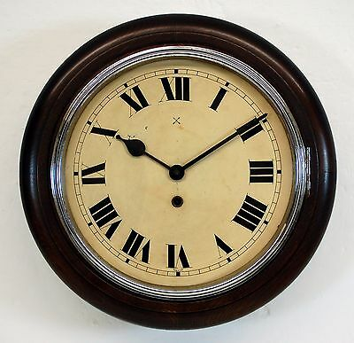 Antique Kitchen Clock with Chrome bezel. Buy with Confidence Professional Seller