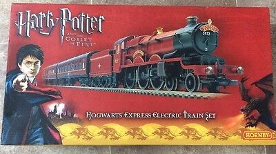 Hornby Harry Potter And The Goblet Of Fire Electric Train Set Hogwarts Express