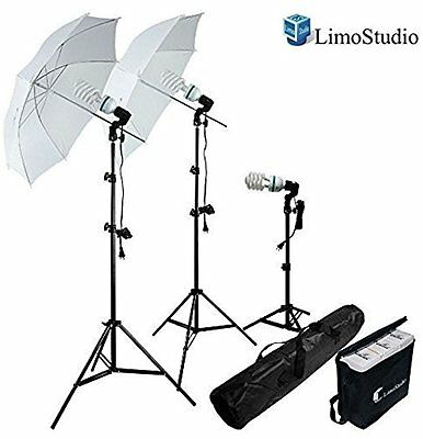 Photography Camera Photo Shoot Set Lighting Kit Video Studio Umbrella Portrait