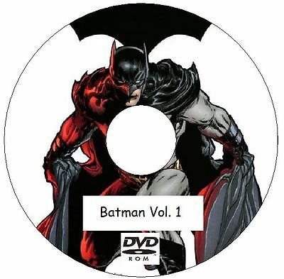 Batman Vol. 1 Comic Collection 713 Issues on 2 DVDs from 1940 - 2011