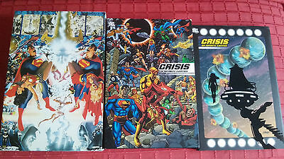 CRISIS ON INFINITE EARTHS Absolute limited English inglese compendium Slipcase