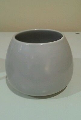 Poole pottery seagull grey sugar bowl retro  no chips or cracks