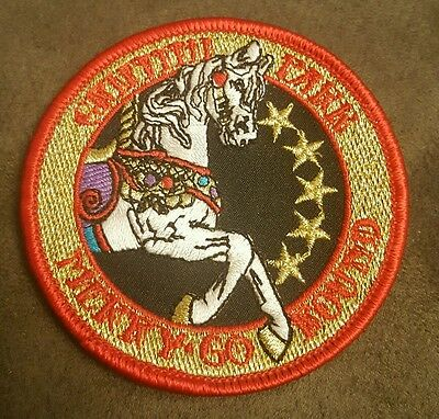 Griffith Park Merry Go Round Carousel Embroidered Sew On Patch