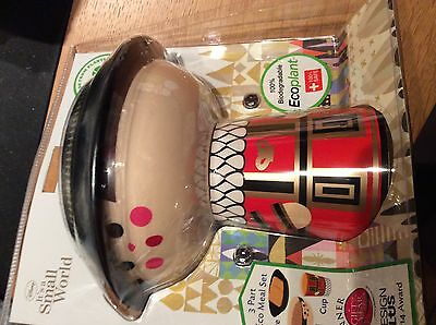 Disney it's a small world - Mary Blair cup plate meal set