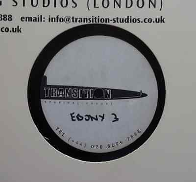"DUBPLATE: EBONY DUBSTERS - 3 /  DJ HYPE - ?????  - 12"" Acetate Transition Studio"