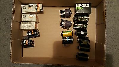 Old Black and White photographic film bundle
