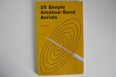 25 Simple Amateur Band Aerials (Book Only).............radio_Trader_Ireland.