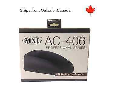 MXL AC406 Professional Series USB Desktop SpeakerPhone / Communicator - NEW