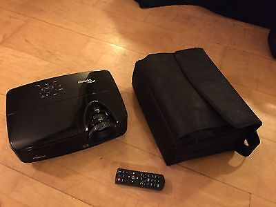 Optoma Projector DS330 SVGA 2800 LUMENS 13000 FULL 3D with remote, case + cables