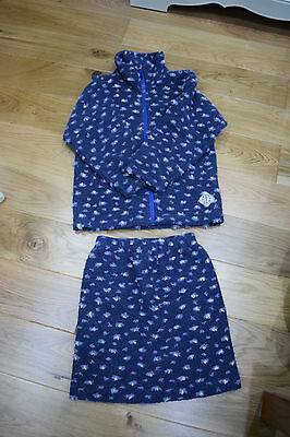 Papoose Skirt and Fleece Size XL Age 8