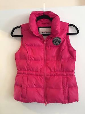 Abercrombie And Fitch Girls Down Vest Size M