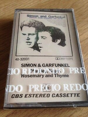 Simon & Garfunkel,(SEALED)Parsley,sage,Rosemary and Thyme,cassette new