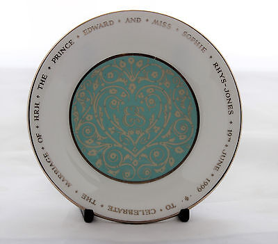 British Royalty Prince Edward And Sophie Trinket Dish By The Royal Collection