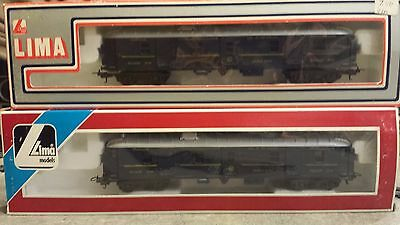 Lima 'orient Express' Set Of Two Baggage Cars - Ho
