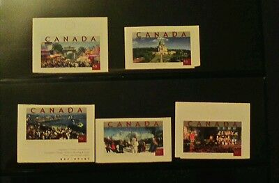 Canada 2004 tourist attractions $ 0.49 s/a mint set