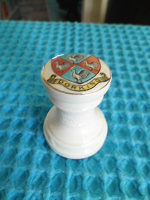 Crested China Coronet Model Of Capstan Dorking Crest  Military Ww1