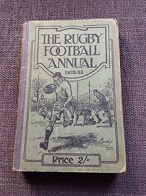 The Rugby Football Annual 1932-33