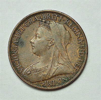 Victoria 1901 Farthing  ®155-A45