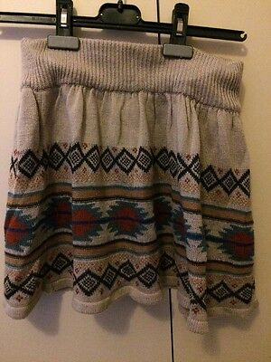 Girls Yd Knitted Skirt 11-12 Years