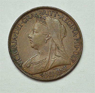 Victoria 1901 Farthing  ®155-A44