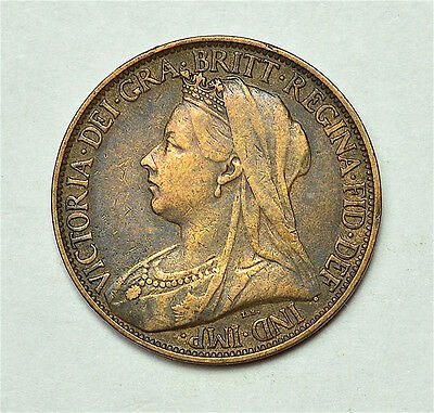 Victoria 1900 Farthing  ®155-A43