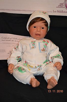 """Lee Middleton """"Small Wonder - ABC - My Own Baby"""" #413 in original box with COA"""