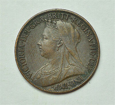 Victoria 1899 Farthing  ®155-A42