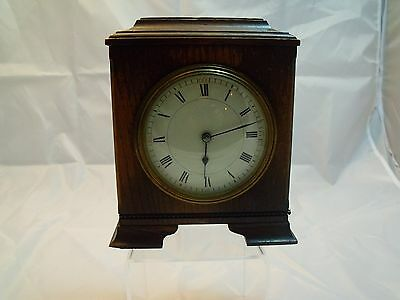 Oak Carriage Clock. French Movement.