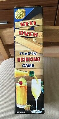 Cheatwell Games KEEL OVER Tumbling Drinking Game