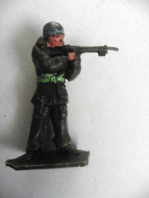Lone Star   Plastic Toy  British Paratrooper Wwii Number 11 1960's Rare