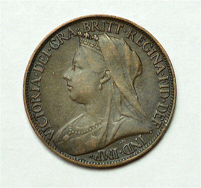 Victoria 1897 Farthing  ®155-A40