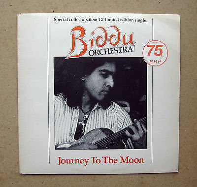 """Biddu Orchestra - 'Journey To The Moon' - Epic S EPC 5910 - 1977 - 12"""" Single."""