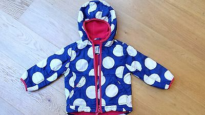 Girls' Mini Boden Fleece-lined Coat/Anorak Age 18m-2 yr