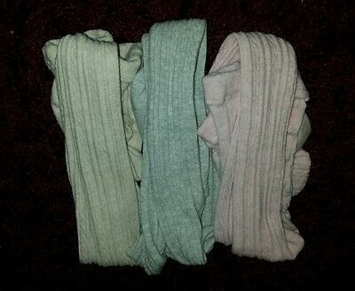 NEXT age 5-6 cable knit tights (x3)