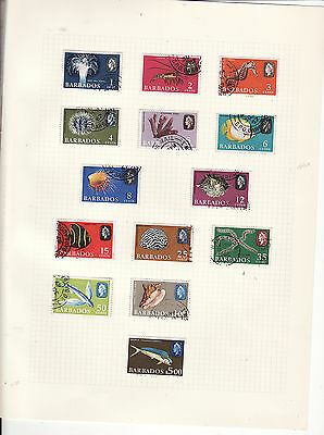 Barbados - 1966-69 Definitives Part Set To $5 14 Out Of 15