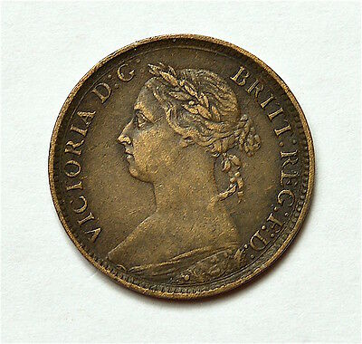 Victoria 1890 Farthing  ®155-A32