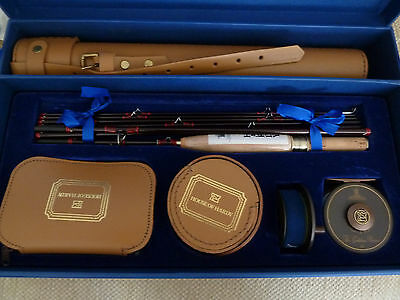 "HARDY COMPLEAT ANGLER ROD AND REEL SET LIMITED EDITION Inc 8' 2 1/2"" Rod #6"