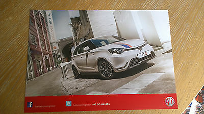 MG Motor Company - 2013/2014 MG3 Promotional Poster