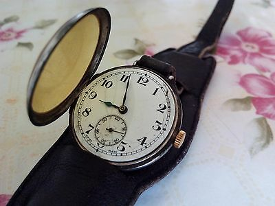 Syren swiss made antique silver watch, a model from 1920