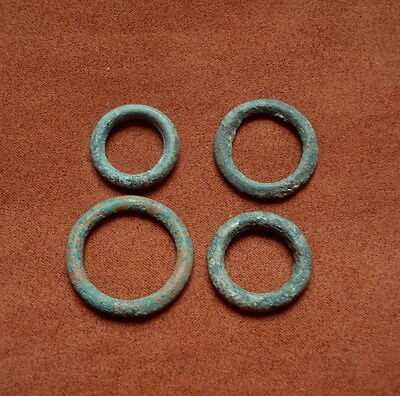 Ancient Bronze Celtic  Proto Money - Ring