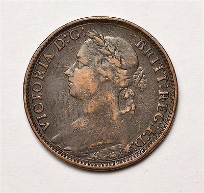 Victoria 1882H Farthing  ®155-A25