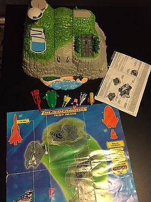 THUNDERBIRDS TRACY ISLAND PLAYSET complete Vintage Complete Lights Sounds