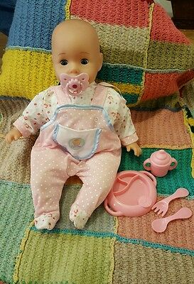 Mothercare giggling babydoll with accessories