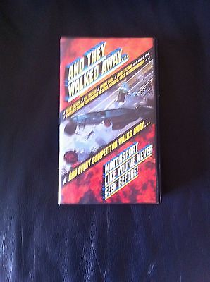 And They Walked Away Crash Compilation VHS Video. Motorsport